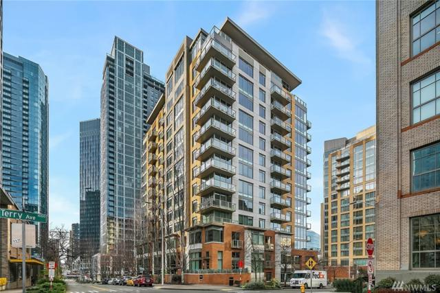 910 Lenora St #1006, Seattle, WA 98121 (#1402637) :: Homes on the Sound