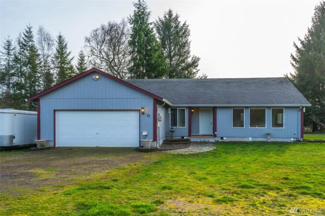 27 W Fairview Dr, Grays River, WA 98621 (#1403403) :: Homes on the Sound