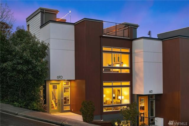 670 Howe St, Seattle, WA 98109 (#1404985) :: Homes on the Sound