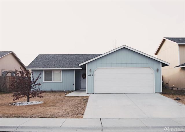 665 L St SE, Ephrata, WA 98823 (#1410678) :: Homes on the Sound