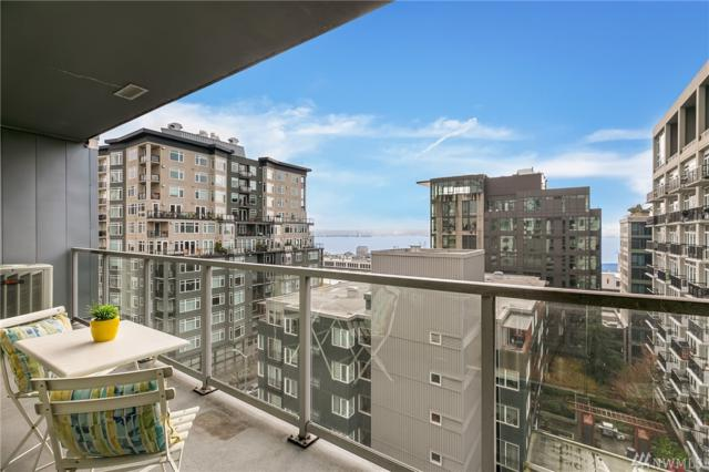 76 Cedar St #902, Seattle, WA 98121 (#1411074) :: Real Estate Solutions Group