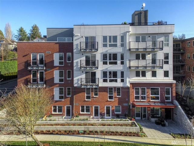 750 11th Ave E #201, Seattle, WA 98121 (#1411627) :: Chris Cross Real Estate Group
