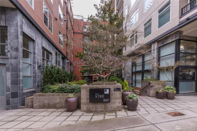 2607 Western Ave #207, Seattle, WA 98121 (#1413056) :: Real Estate Solutions Group
