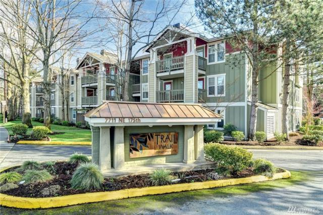7711 NE 175th St A301, Kenmore, WA 98028 (#1415056) :: Homes on the Sound