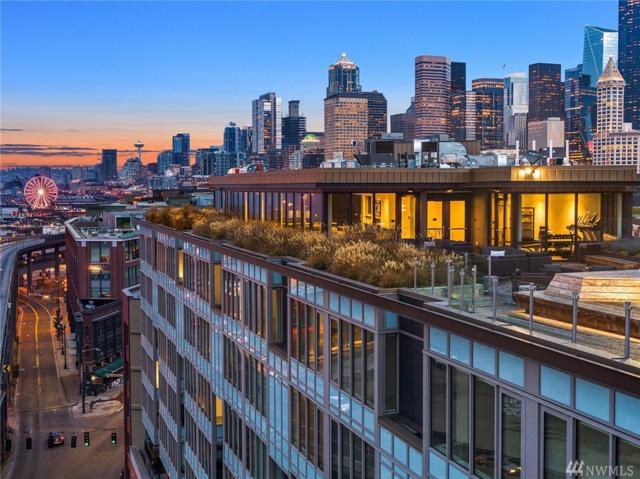 590 1st Ave S #607, Seattle, WA 98104 (#1421639) :: Ben Kinney Real Estate Team