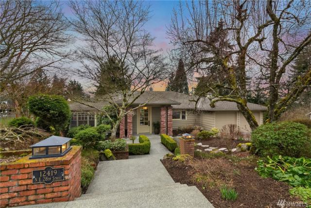 12419 NE 28th St, Bellevue, WA 98005 (#1421852) :: Homes on the Sound