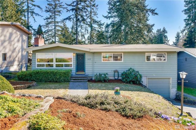 145 NE 159th St, Shoreline, WA 98155 (#1425820) :: Hauer Home Team
