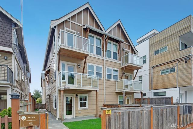 2433 55th Ave SW B, Seattle, WA 98116 (#1428784) :: The Kendra Todd Group at Keller Williams