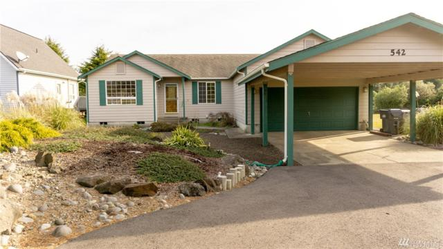 542 Point Brown Ave SE, Ocean Shores, WA 98569 (#1430216) :: Real Estate Solutions Group