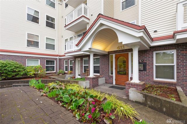 411 N 90th St #301, Seattle, WA 98103 (#1439050) :: Northern Key Team