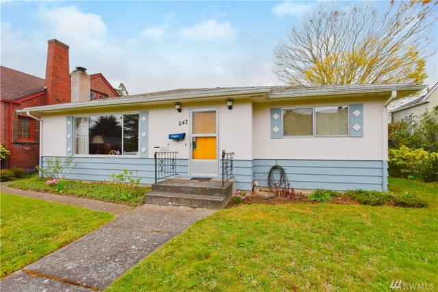647 NW 84th St, Seattle, WA 98117 (#1440545) :: TRI STAR Team | RE/MAX NW