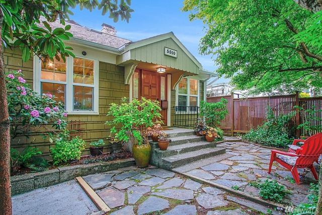 5510 8th Ave NE, Seattle, WA 98105 (#1442729) :: Ben Kinney Real Estate Team