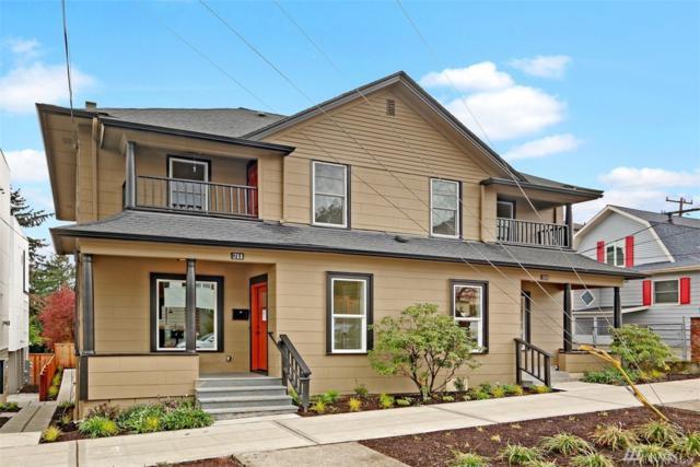 211 16th Ave, Seattle, WA 98122 (#1444187) :: McAuley Homes