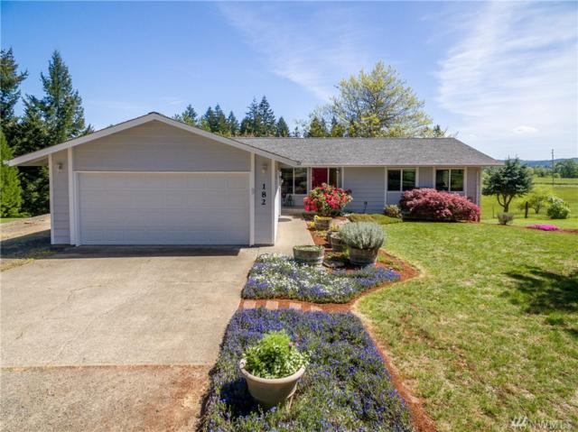182 Plomondon Rd, Toledo, WA 98591 (#1452279) :: Homes on the Sound
