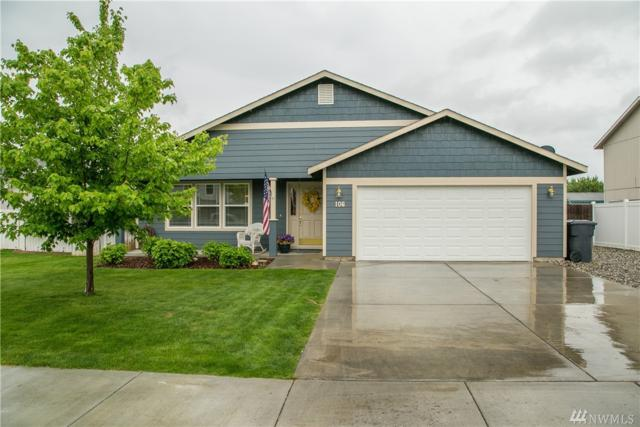 106 NE G St, Quincy, WA 98848 (#1459478) :: Homes on the Sound