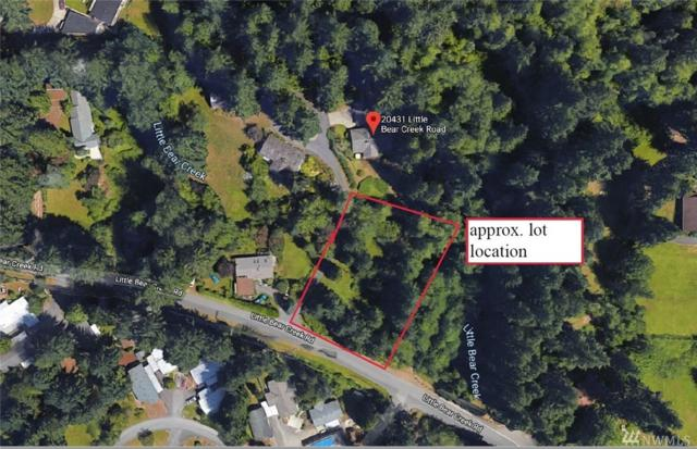 0 204Xx Little Bear Creek Rd, Woodinville, WA 98072 (#1460290) :: Homes on the Sound