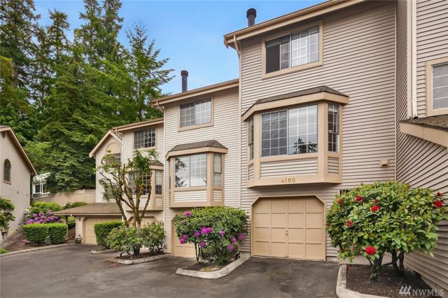 4160 178th Lane SE #4, Bellevue, WA 98008 (#1460335) :: Keller Williams Realty Greater Seattle
