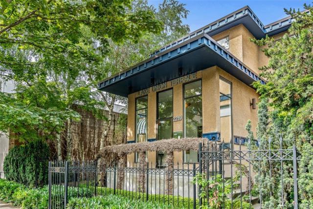 2219 Eastlake Ave E #102, Seattle, WA 98102 (#1469328) :: Real Estate Solutions Group