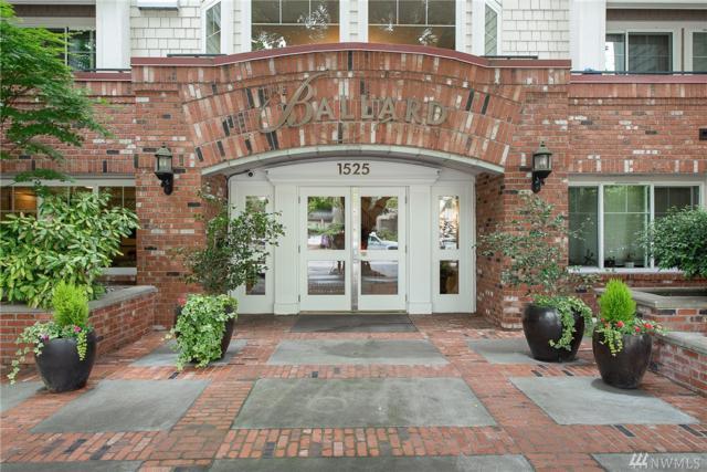 1525-NW 57th St #502, Seattle, WA 98107 (#1471966) :: Better Properties Lacey