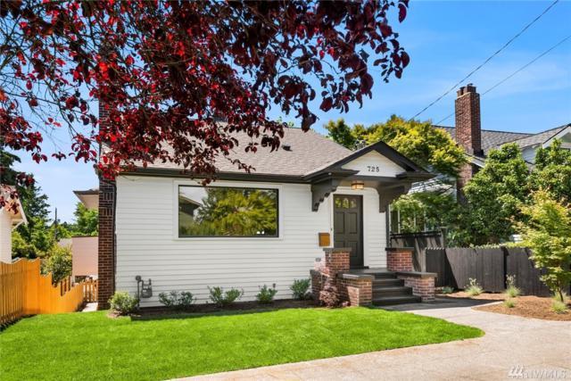 725 N 67th St #1, Seattle, WA 98103 (#1472757) :: Kimberly Gartland Group