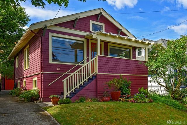 115 NE 58th St, Seattle, WA 98105 (#1479082) :: Platinum Real Estate Partners