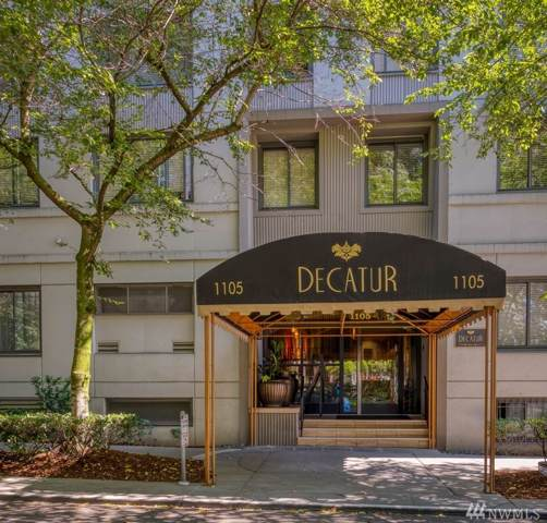 1105 Spring St #604, Seattle, WA 98104 (#1502423) :: Real Estate Solutions Group