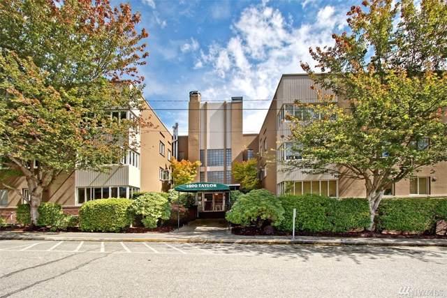 1800 Taylor N #203, Seattle, WA 98109 (#1509922) :: Ben Kinney Real Estate Team