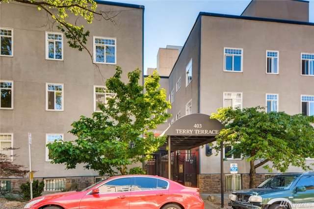 403 Terry Ave #305, Seattle, WA 98104 (#1521995) :: Keller Williams Western Realty