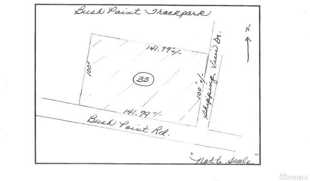 0-Lot 33 Bush Point Rd, Freeland, WA 98249 (#1542018) :: Mosaic Home Group