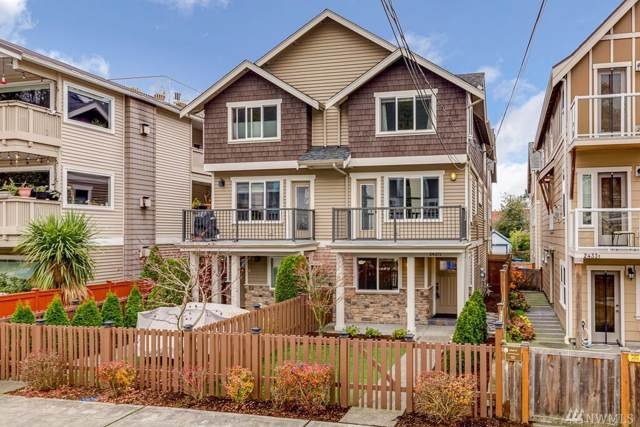 2437 55th Ave SW A, Seattle, WA 98116 (#1543251) :: Real Estate Solutions Group