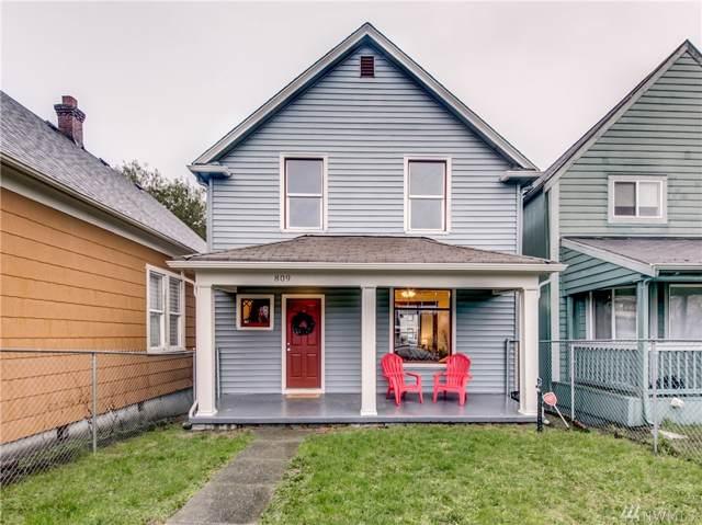 809 S M St, Tacoma, WA 98405 (#1552084) :: Crutcher Dennis - My Puget Sound Homes