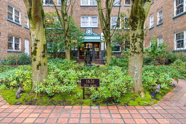 1631 16th Ave #214, Seattle, WA 98122 (#1556725) :: Real Estate Solutions Group