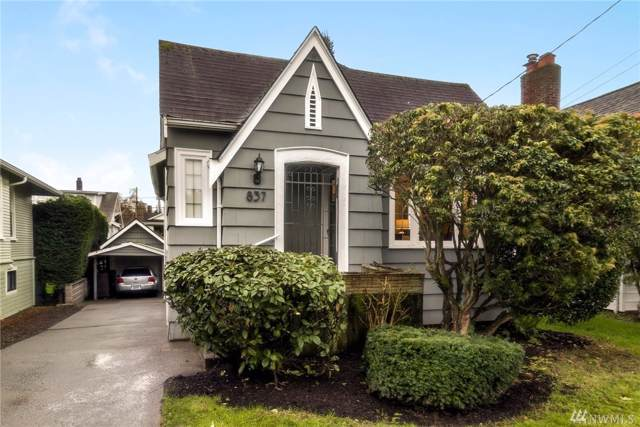 837 NE 56th St, Seattle, WA 98105 (#1556910) :: Ben Kinney Real Estate Team