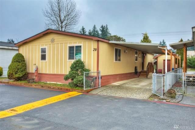 15410 SE 272nd St #20, Kent, WA 98042 (#1561303) :: Record Real Estate