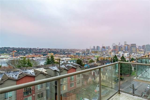 1525 Taylor Ave N #605, Seattle, WA 98109 (#1564190) :: Ben Kinney Real Estate Team