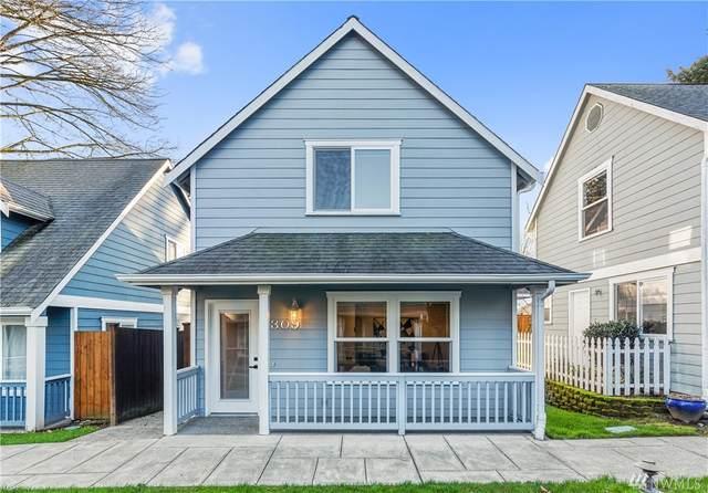 1309 N 184th #5, Shoreline, WA 98133 (#1564474) :: Record Real Estate