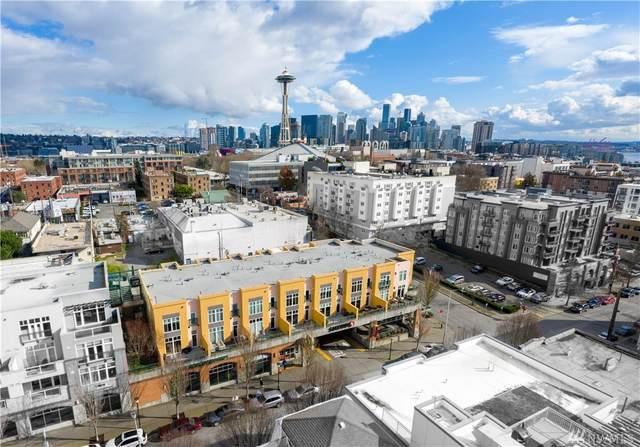 17 W Mercer St #4, Seattle, WA 98119 (#1567798) :: Mosaic Realty, LLC