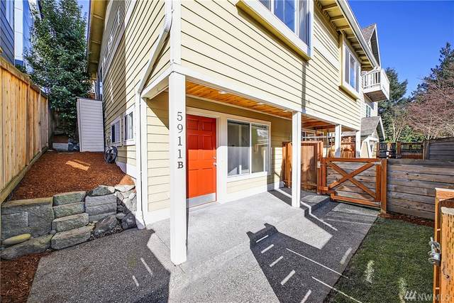 5911-B 40th Ave SW, Seattle, WA 98136 (#1583077) :: The Kendra Todd Group at Keller Williams