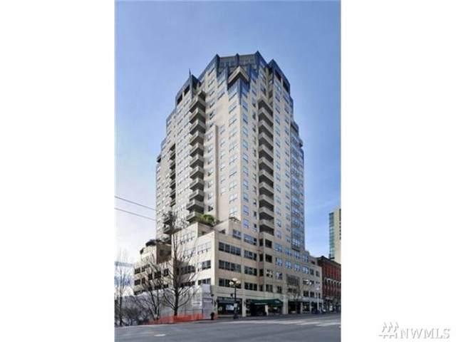 1107 1st Ave #1504, Seattle, WA 98101 (#1583890) :: Ben Kinney Real Estate Team