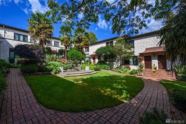 2205 Bigelow Ave N #12, Seattle, WA 98109 (#1584061) :: Ben Kinney Real Estate Team