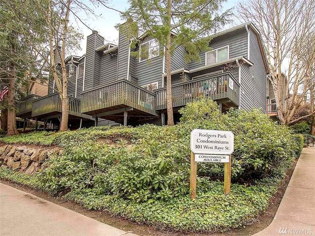 301 W Raye St #204, Seattle, WA 98119 (#1584110) :: Ben Kinney Real Estate Team