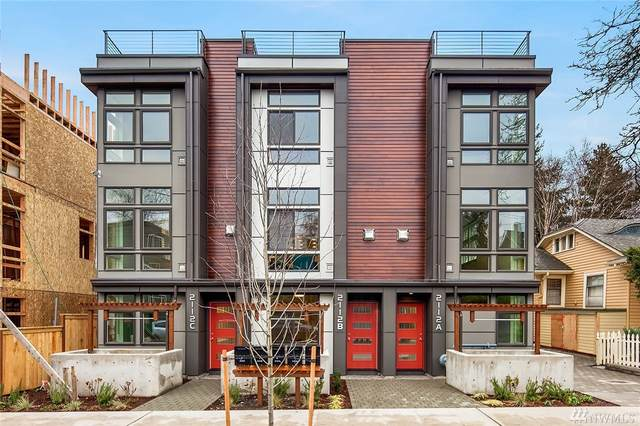 2112-C 3rd Ave N, Seattle, WA 98109 (#1584962) :: Ben Kinney Real Estate Team