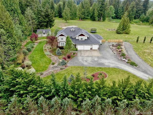 14801 Maple Ridge Lane SE, Yelm, WA 98597 (#1597654) :: KW North Seattle