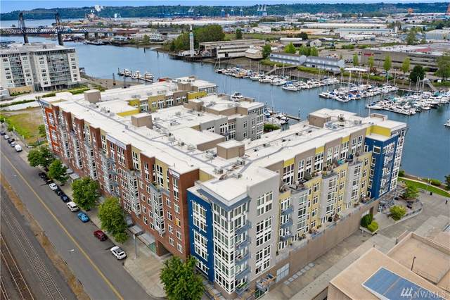 1705 Dock St #552, Tacoma, WA 98402 (#1600062) :: Lucas Pinto Real Estate Group