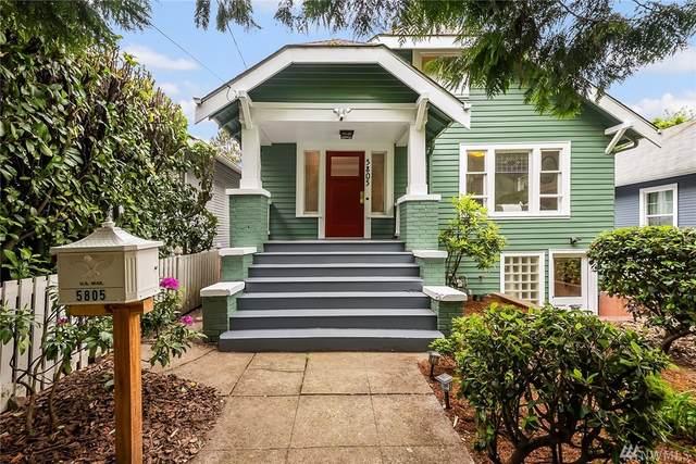 5805 5th Ave NE, Seattle, WA 98105 (#1604165) :: Hauer Home Team