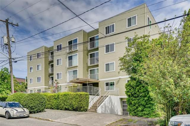 800 N Allen Place #306, Seattle, WA 98103 (#1607132) :: Ben Kinney Real Estate Team