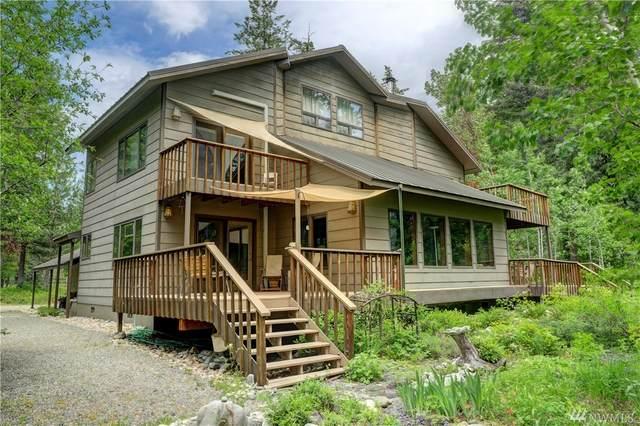 706-B Lost River Rd, Mazama, WA 98833 (#1610655) :: McAuley Homes