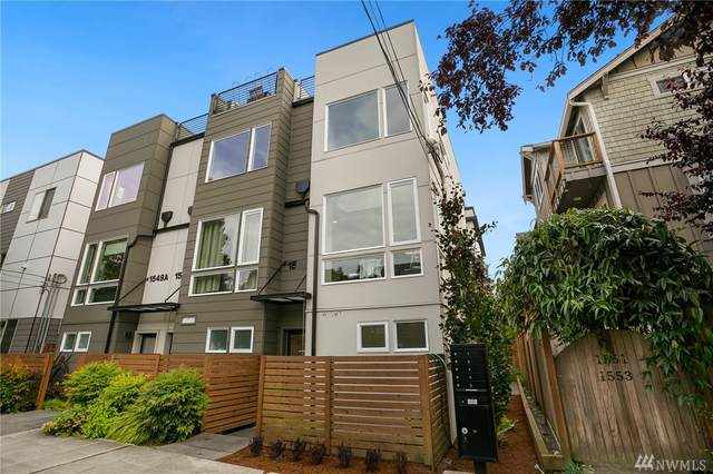1549 NW 61st St C, Seattle, WA 98107 (#1625728) :: Icon Real Estate Group