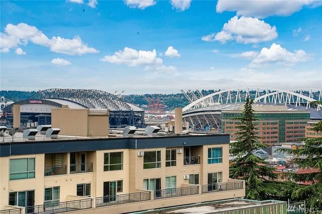 321 10th Avenue S #602, Seattle, WA 98104 (#1630453) :: Ben Kinney Real Estate Team