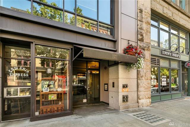 100 1st Avenue S #8, Seattle, WA 98104 (#1641697) :: Hauer Home Team